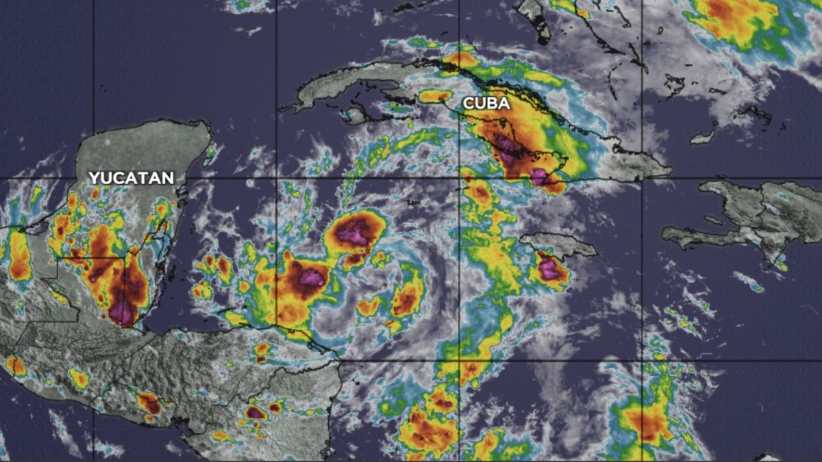Nicondra: Tropical Depression 28 forms in the Caribbean