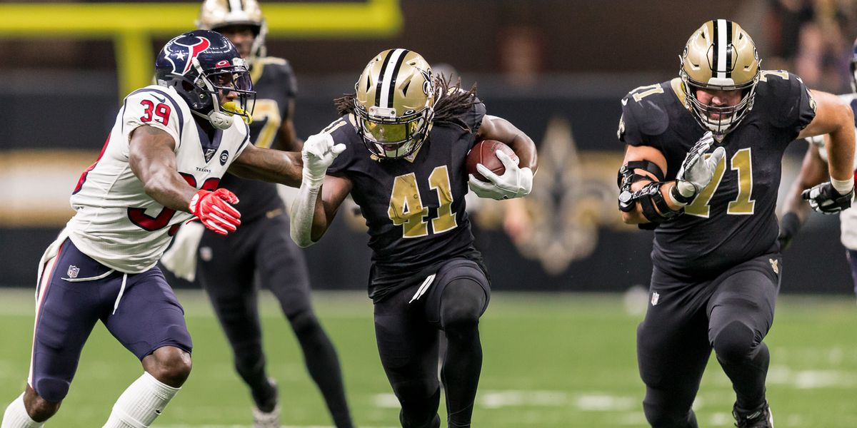 Deuce McAllister sees Saints backfield as work in progress, confident in defensive end rotation