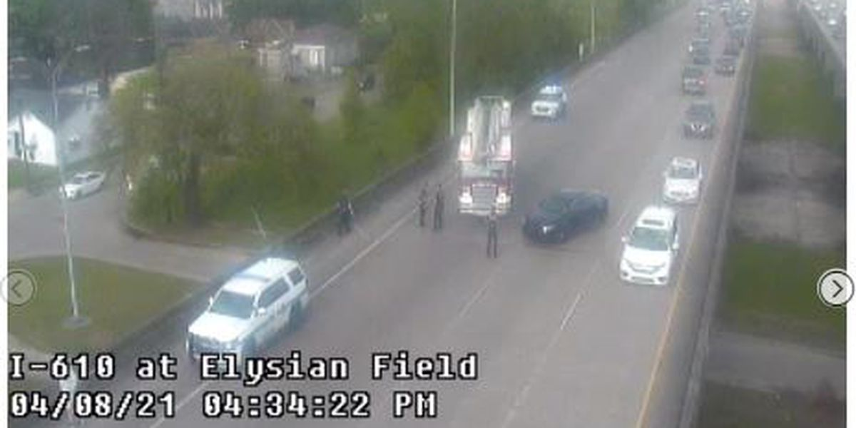Two shot on I-610 near Broad Street