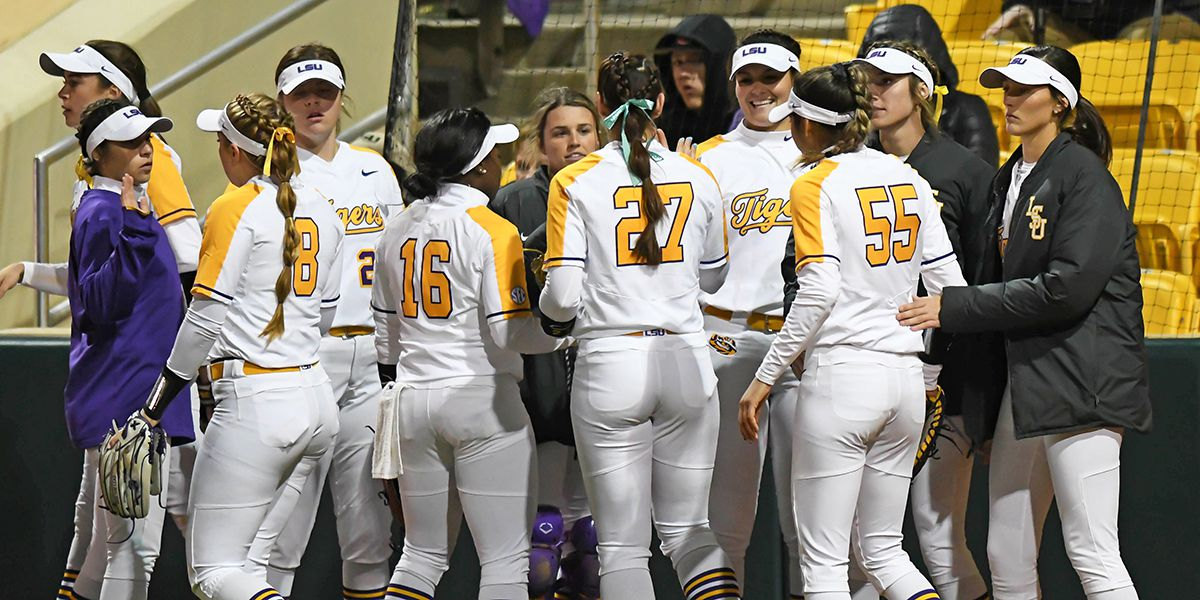 LSU softball moves into top 10