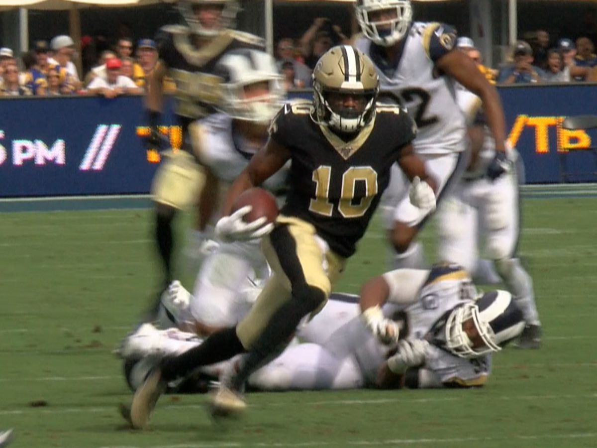 Saints rule out three players for Seahawks game