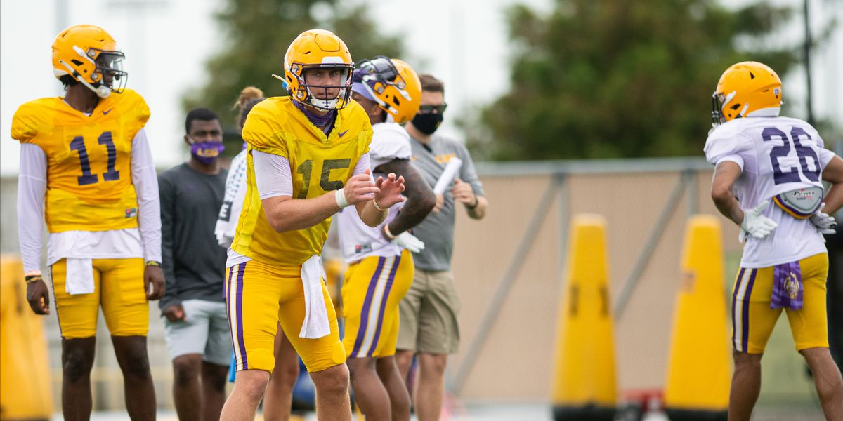 Orgeron points out concerns as LSU heads into season-opener against Mississippi State