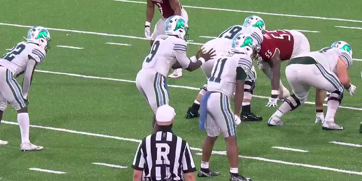 Tulane scores 21 unanswered points to beat USA on the road