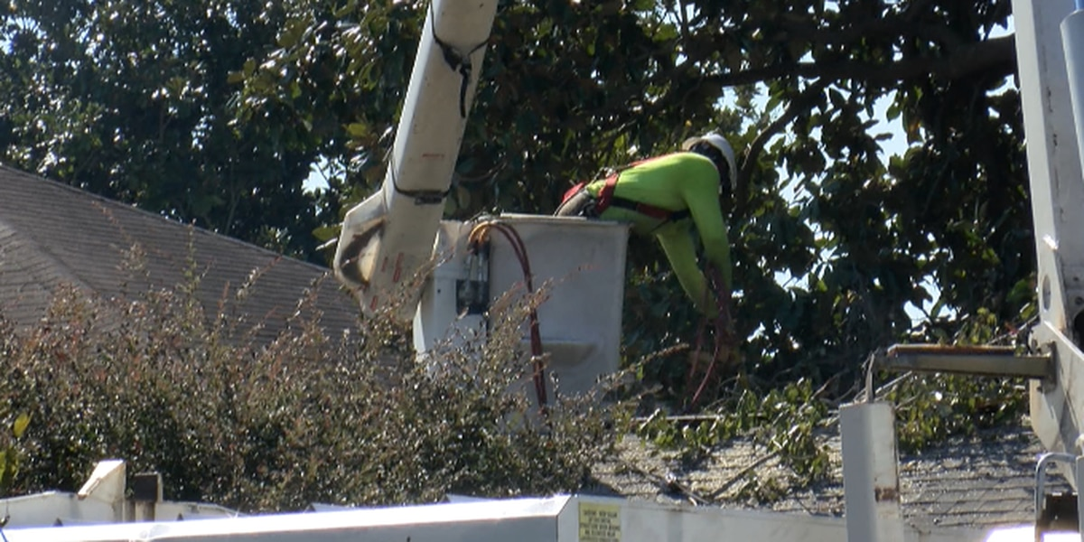 Some Southshore residents still without power from Tropical Storm Olga
