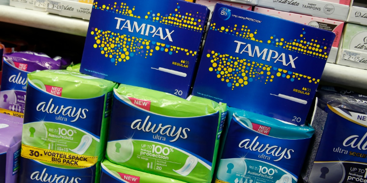 Ohio lawmakers poised to remove sales tax from tampons