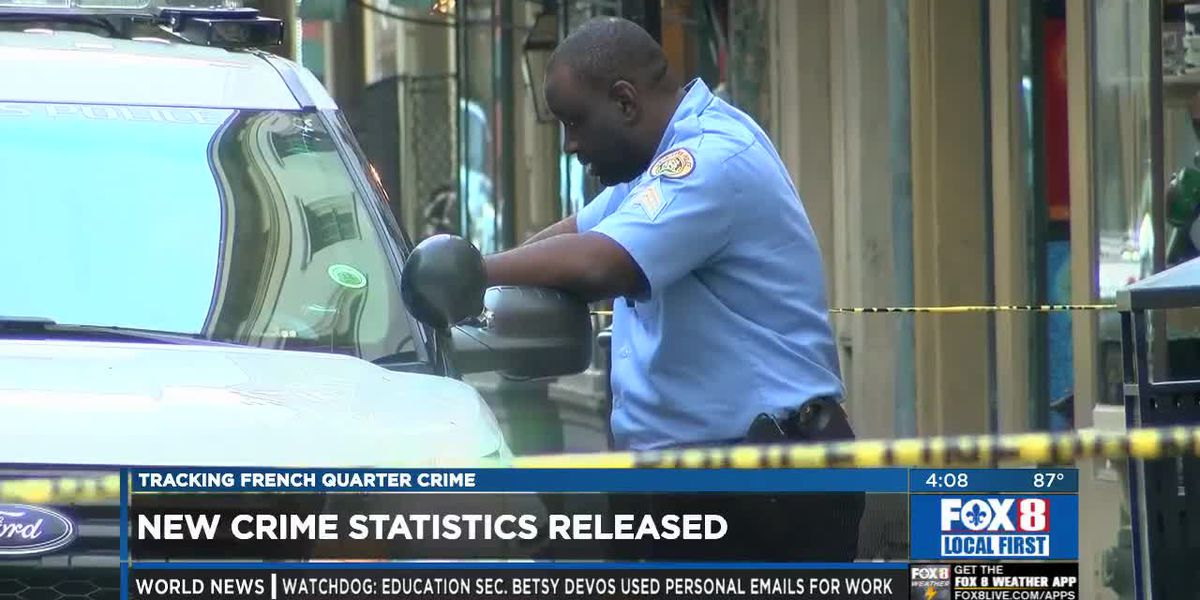 French Quarter Crime Stats Update