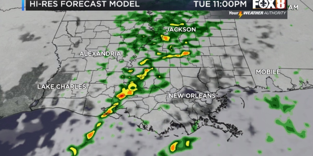 Nicondra: Another cold front moves through