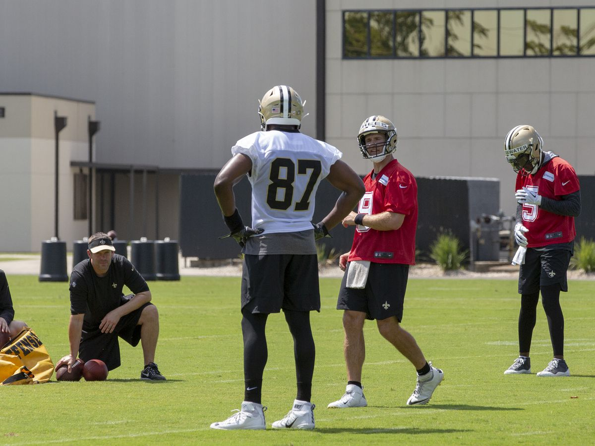 "Brees ""impressed"" with new Saints TE Jared Cook"