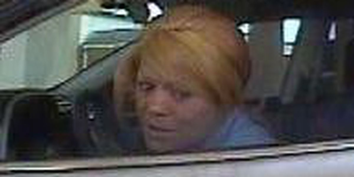 Woman wanted for car burglary, credit card theft