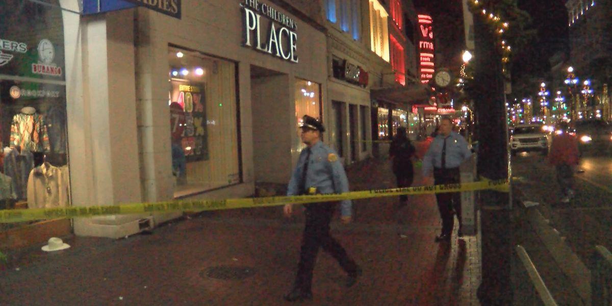Man, woman shot during French Quarter brawl