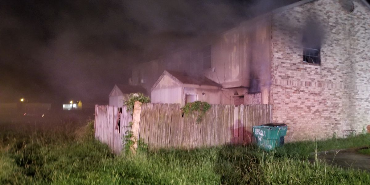Harvey firefighter taken to hospital after responding to apartment fire