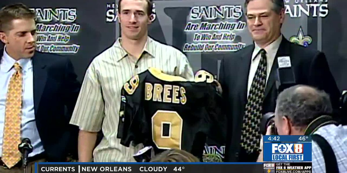 Drew Brees turns 40