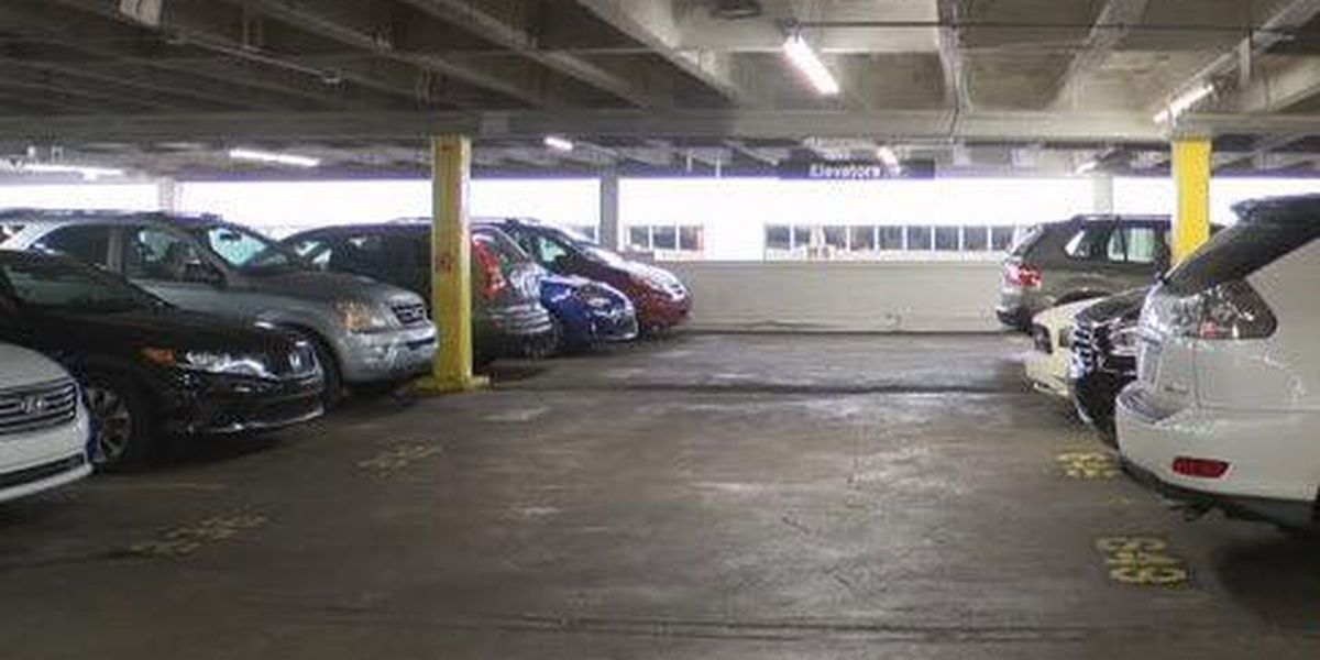 Irma impacting New Orleans parking garages