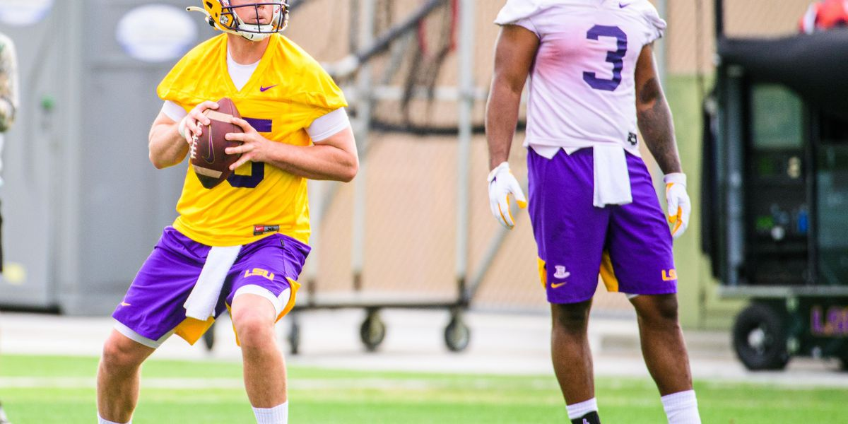 The battle is ongoing for the starting QB job at LSU