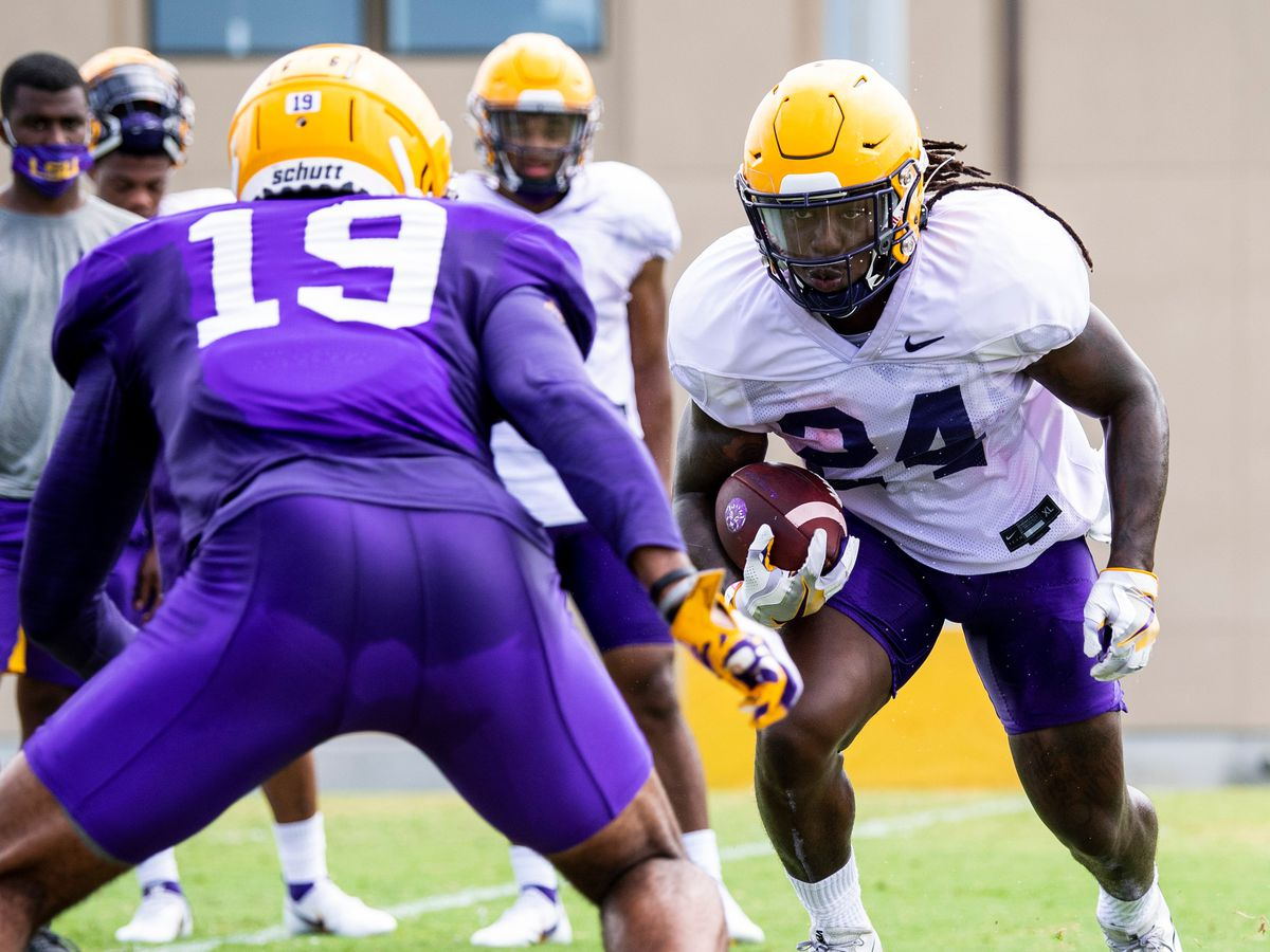 LSU trending toward running back by committee