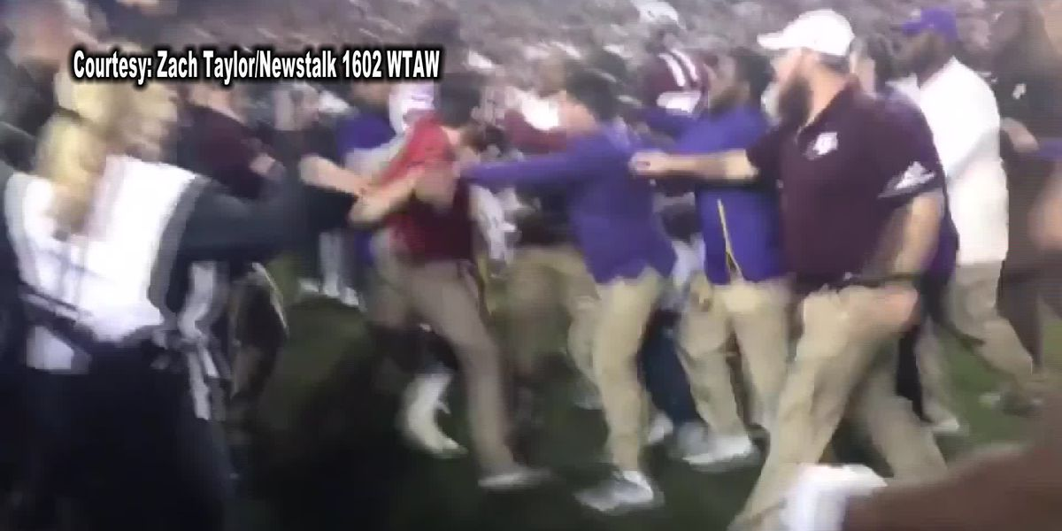 LSU's Kevin Faulk involved in on-field scuffle after Steve Kragthorpe reportedly punched in chest