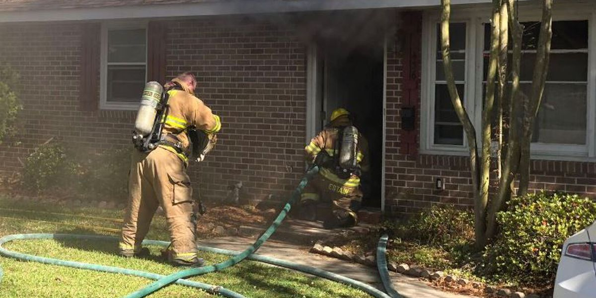 St. Tammany firefighters stop kitchen fire from destroying home