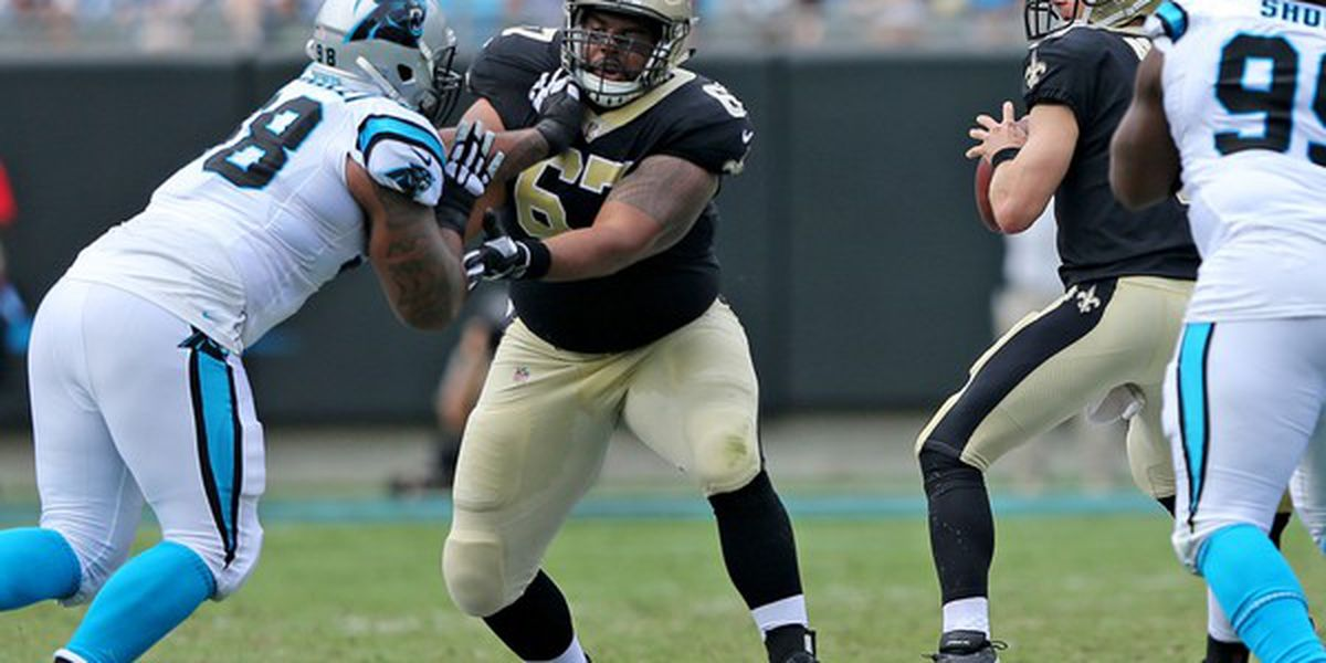 Larry Warford active for Saints-Ravens game