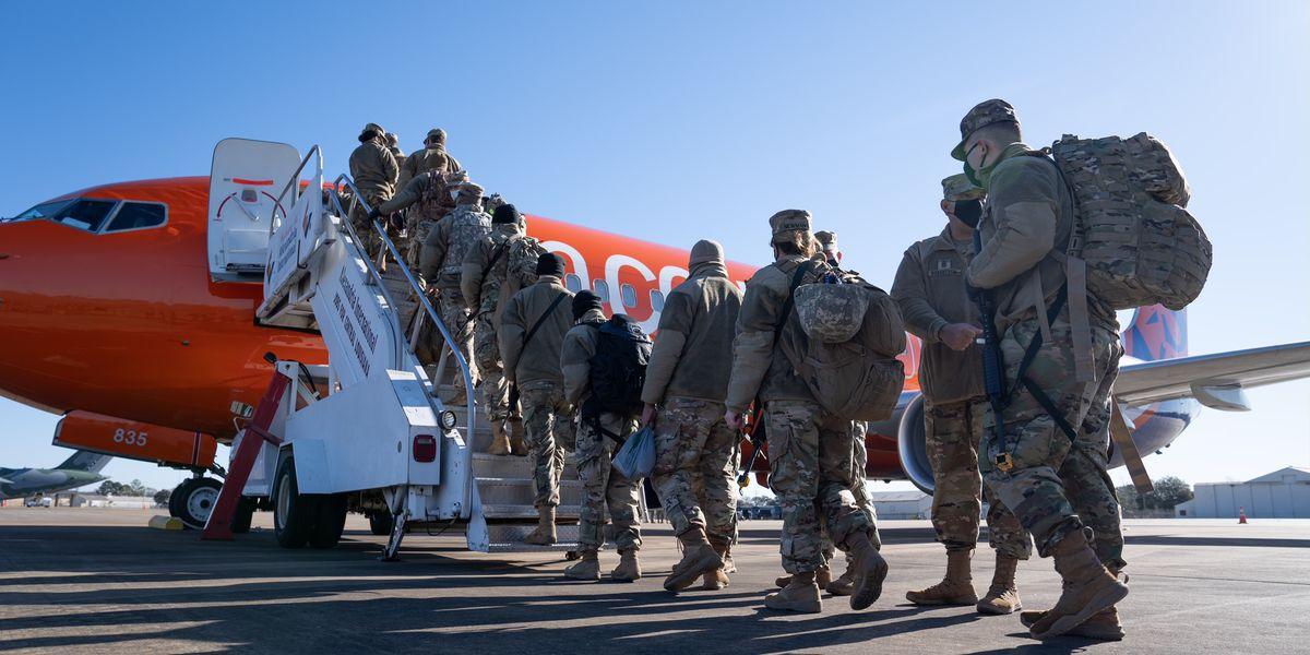 LA National Guardsmen head to DC as law enforcement prepares for armed protests