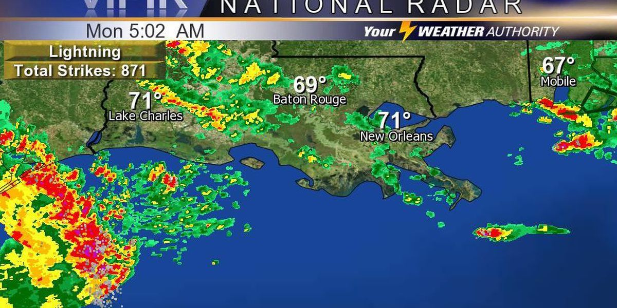 Flash Flood Watch in effect as rain continues: Get your full forecast on the FOX 8 Morning Edition