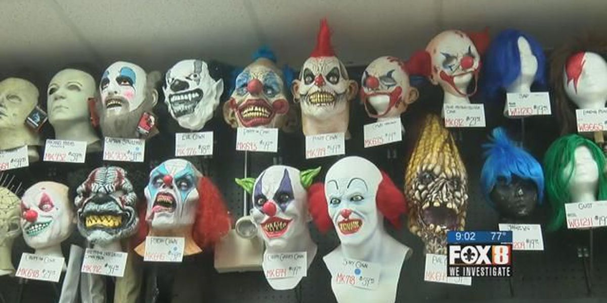 NOPD urging people not to wear clown masks this Halloween