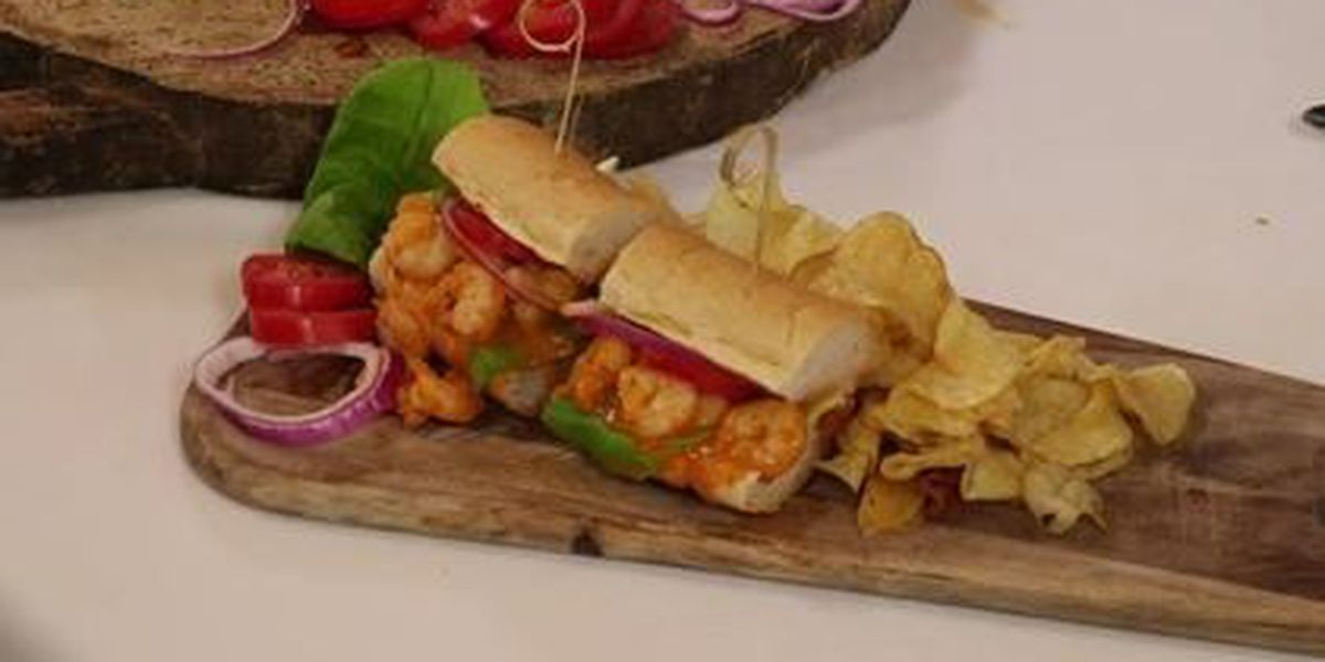 Chef John Folse: Barbecued shrimp sandwiches