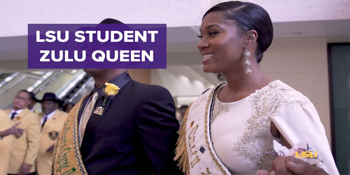 LSU student named queen of Zulu Krewe, Tiger Golden Band to play alongside her in Mardi Gras parade