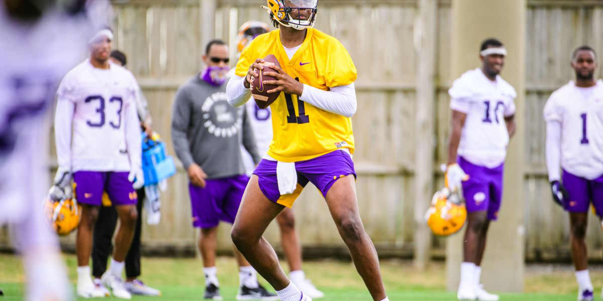 QB TJ Finley looks for consistency in Year 2 with LSU