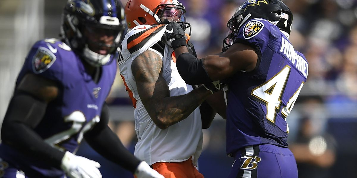 Browns' Beckham fined 14k for incident with Ravens last week