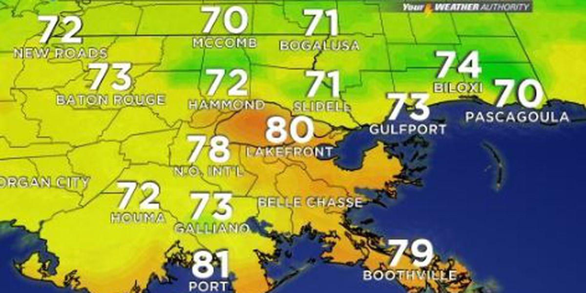 Your Weather Authority: A hot afternoon with little chance of rain