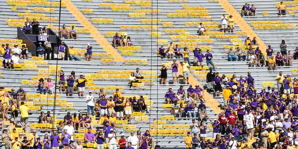 LSU announces changes for student tickets for this football season