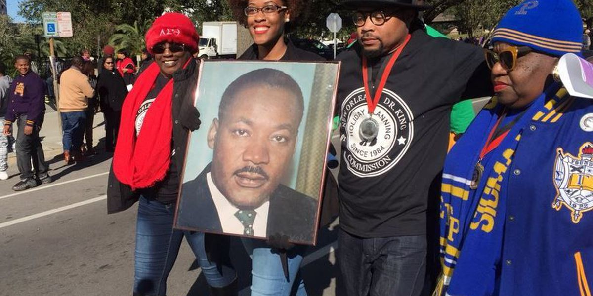 Thousands celebrate at Martin Luther King, Jr. parade in New Orleans