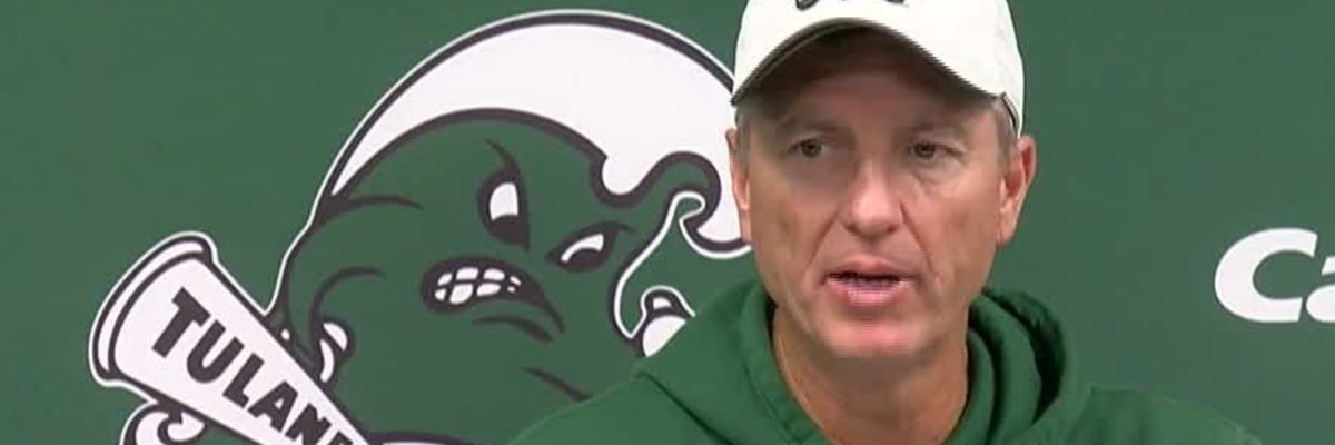 Tulane's Willie Fritz discusses the upcoming trip to Houston