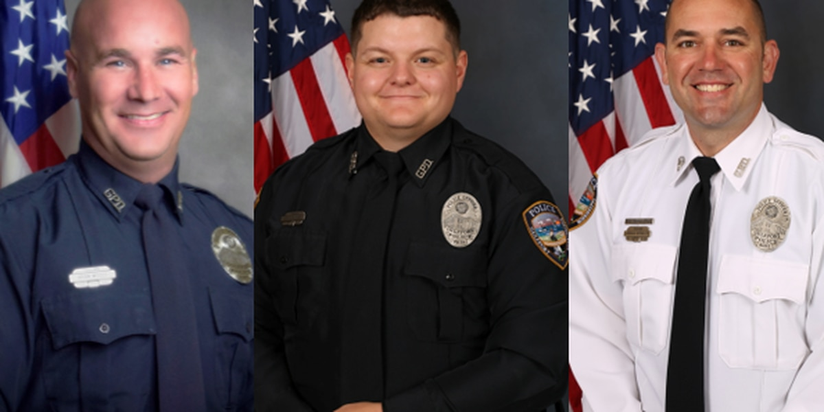 Gulfport officers hit while working incident on I-10 identified