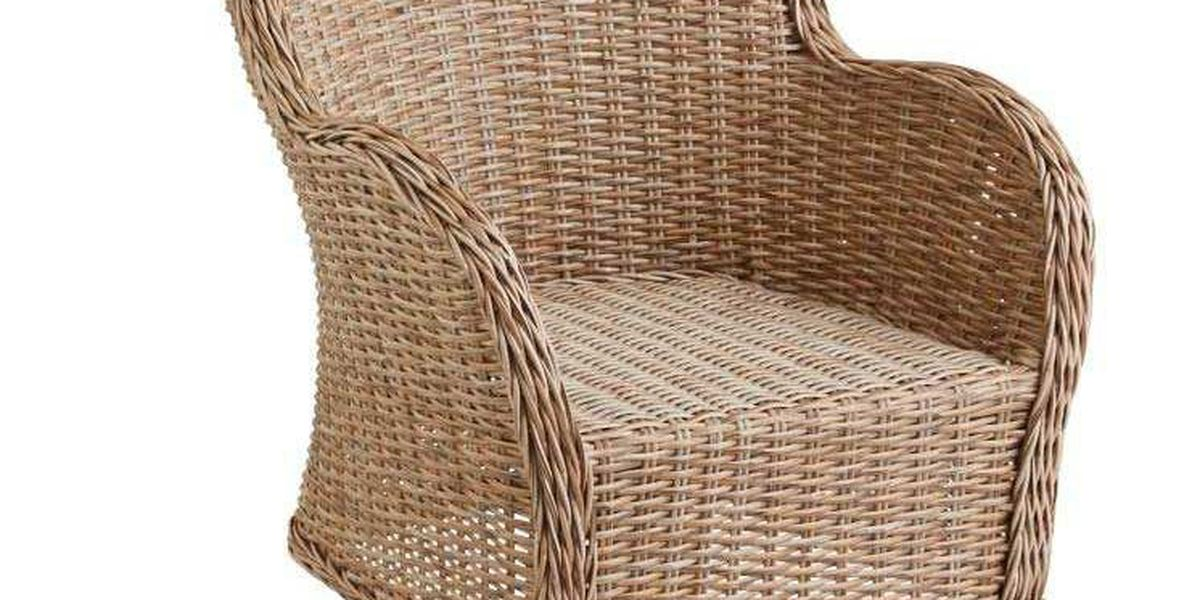 Pier 1 Imports recalls chairs over potential falling hazard