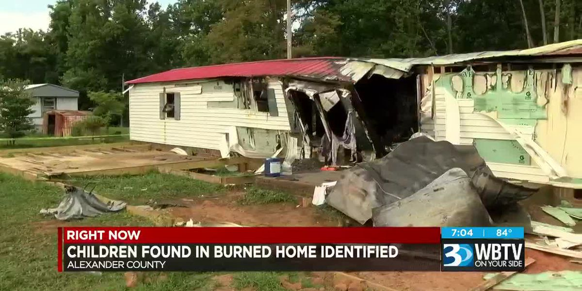 N.C. children found dead in burned home identified, mother's body believed to be in Catawba River