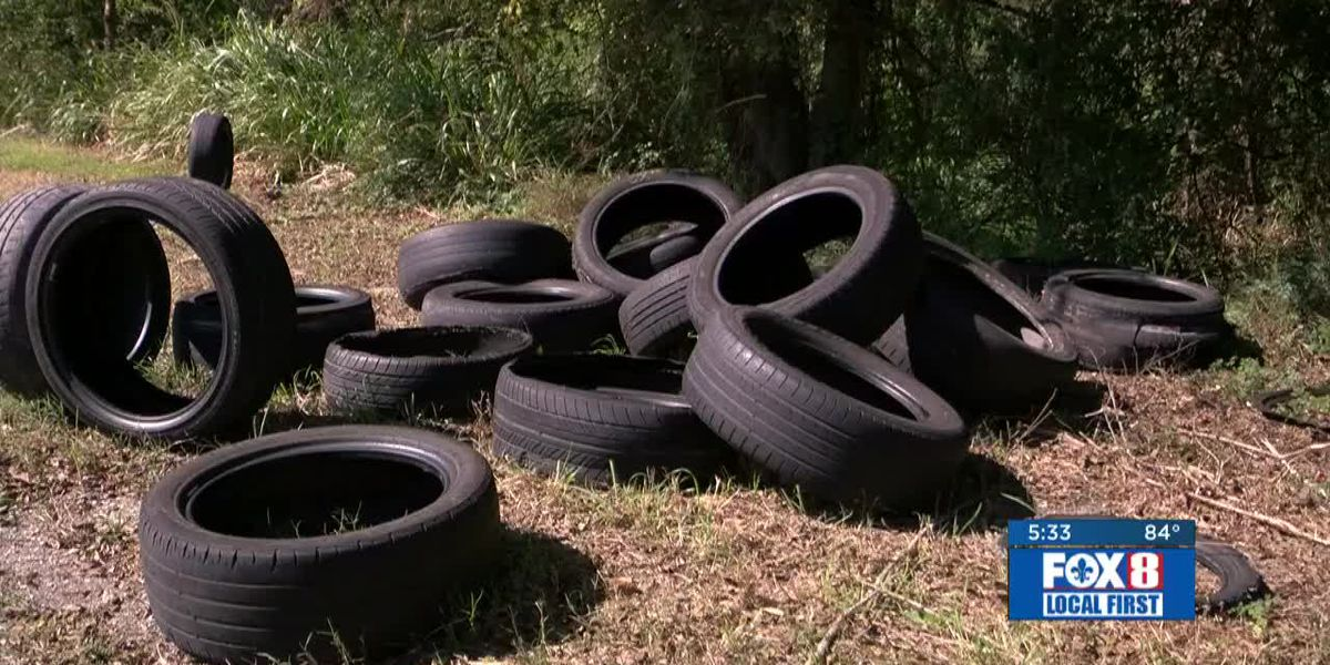 FOX 8 Defenders: Illegally dumped tires in New Orleans East