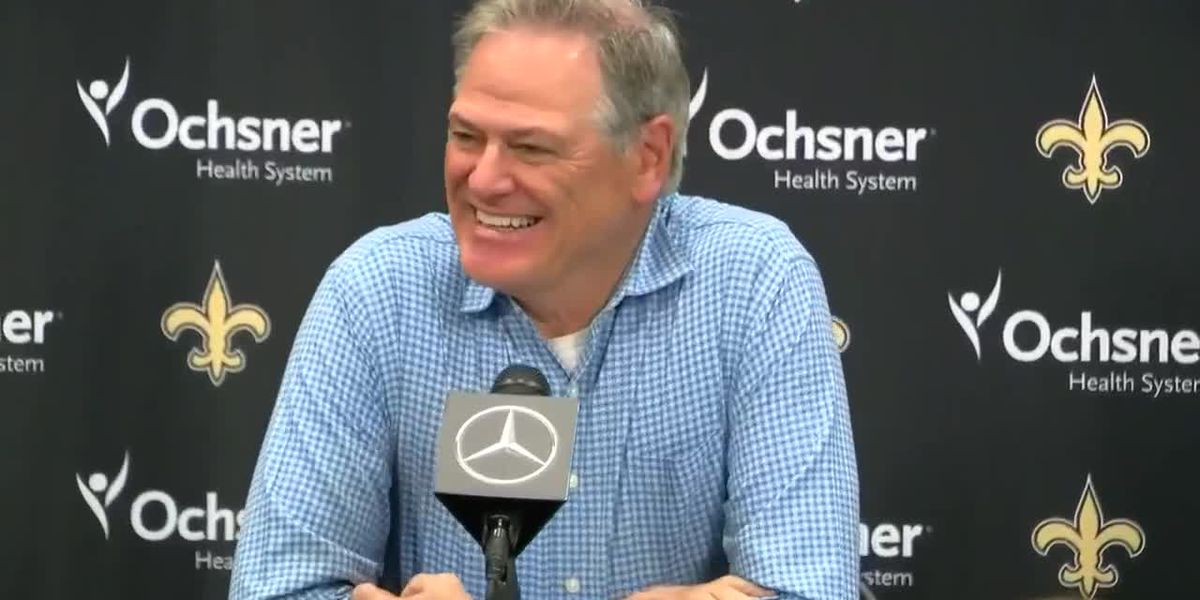 VIDEO: Mickey Loomis talks Saints draft picks, trades and players