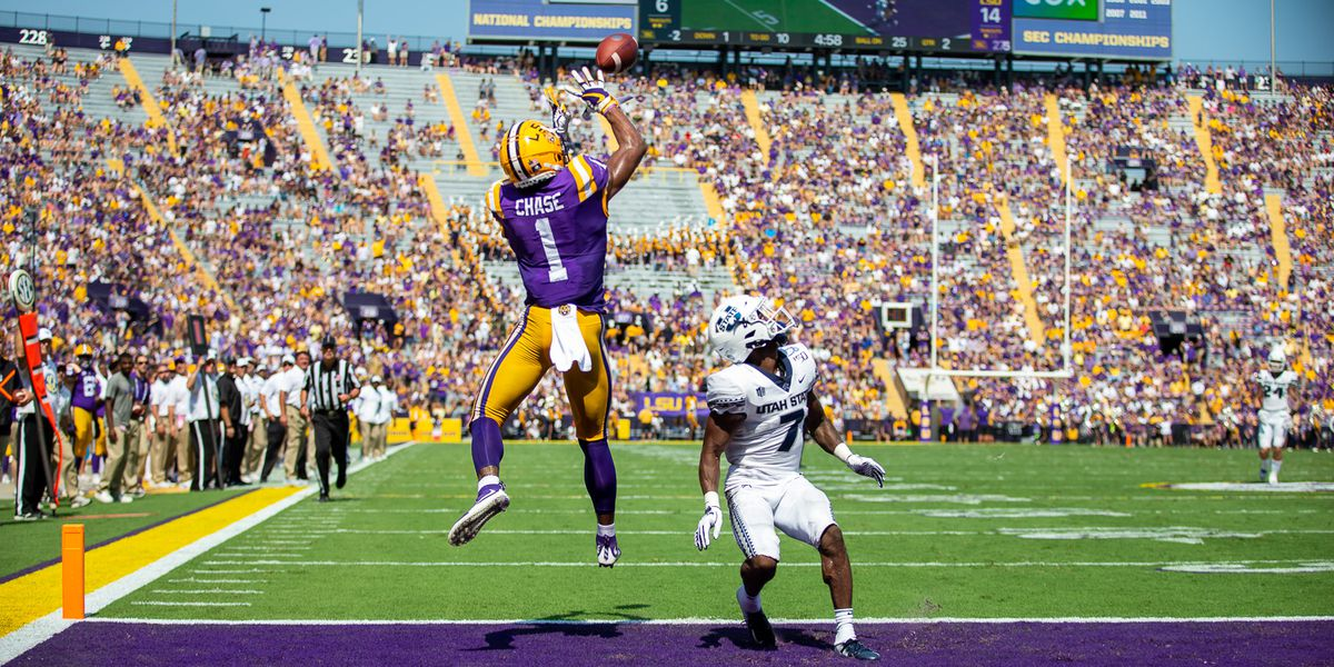 With Chase opting out, who's next up at WR for LSU