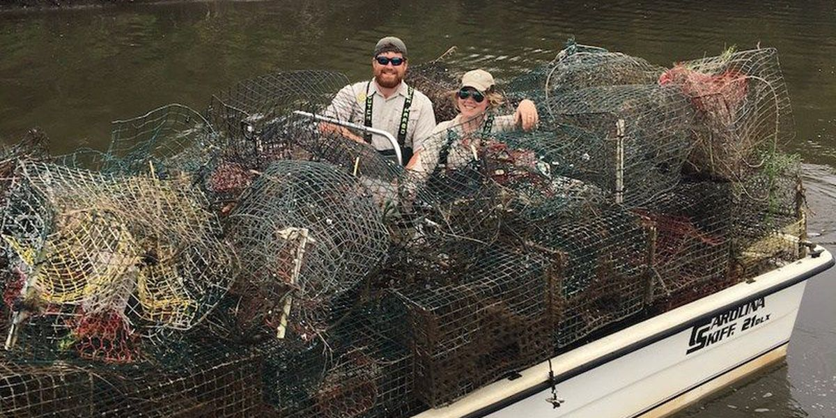 Over 5,600 abandoned crab traps removed from Louisiana waters