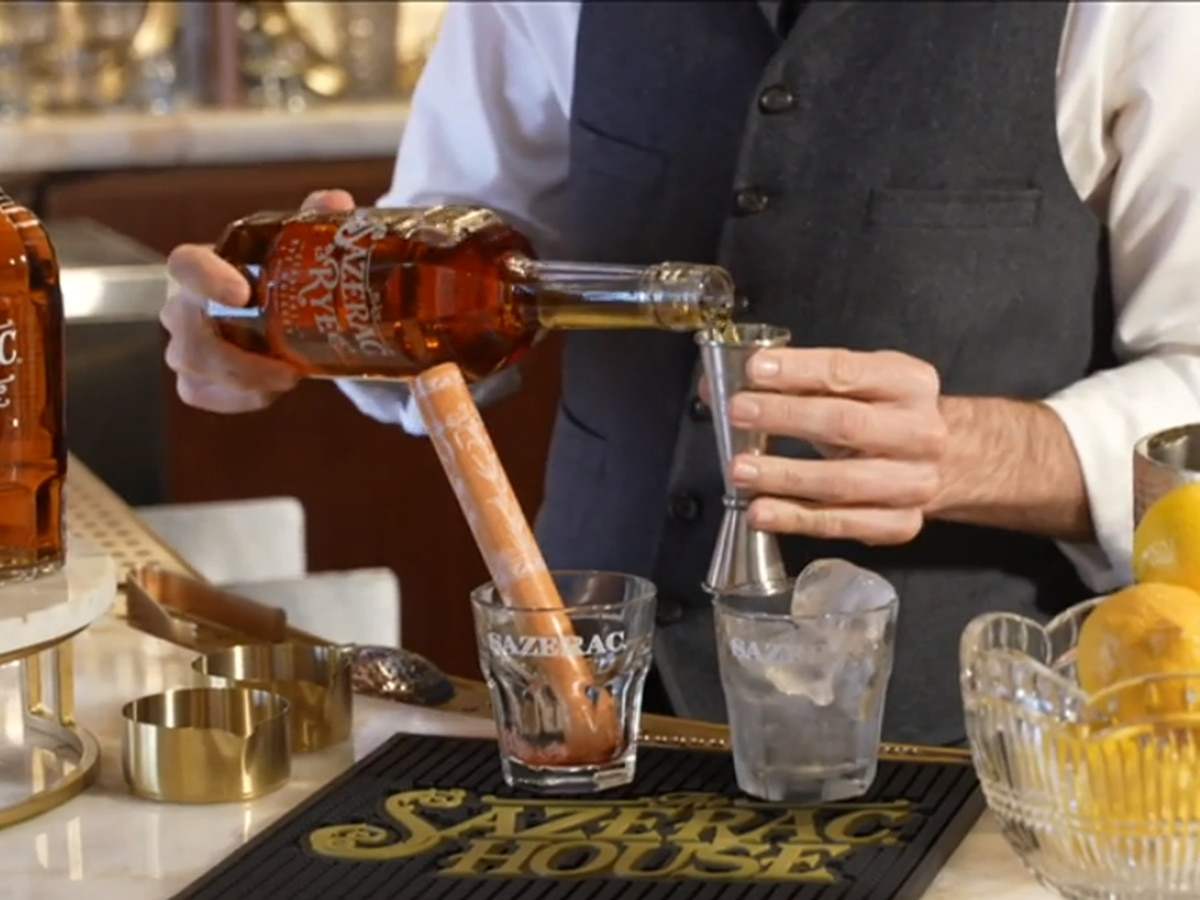 Heart of Louisiana: The Sazerac remedy