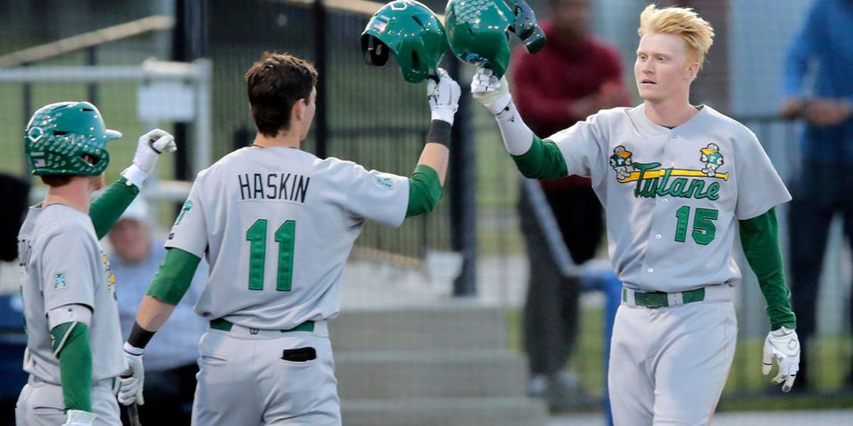 Tulane claims series over USF with 20-11 win