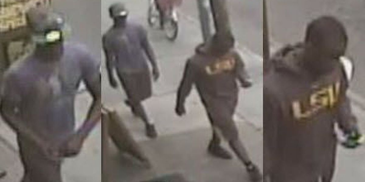 Pair wanted for robbery in Garden District