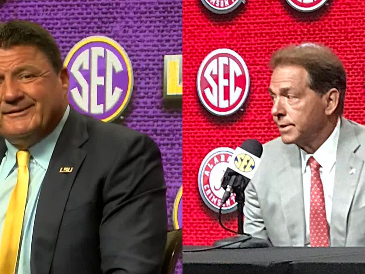 LSU predicted to finish behind Bama in SEC West