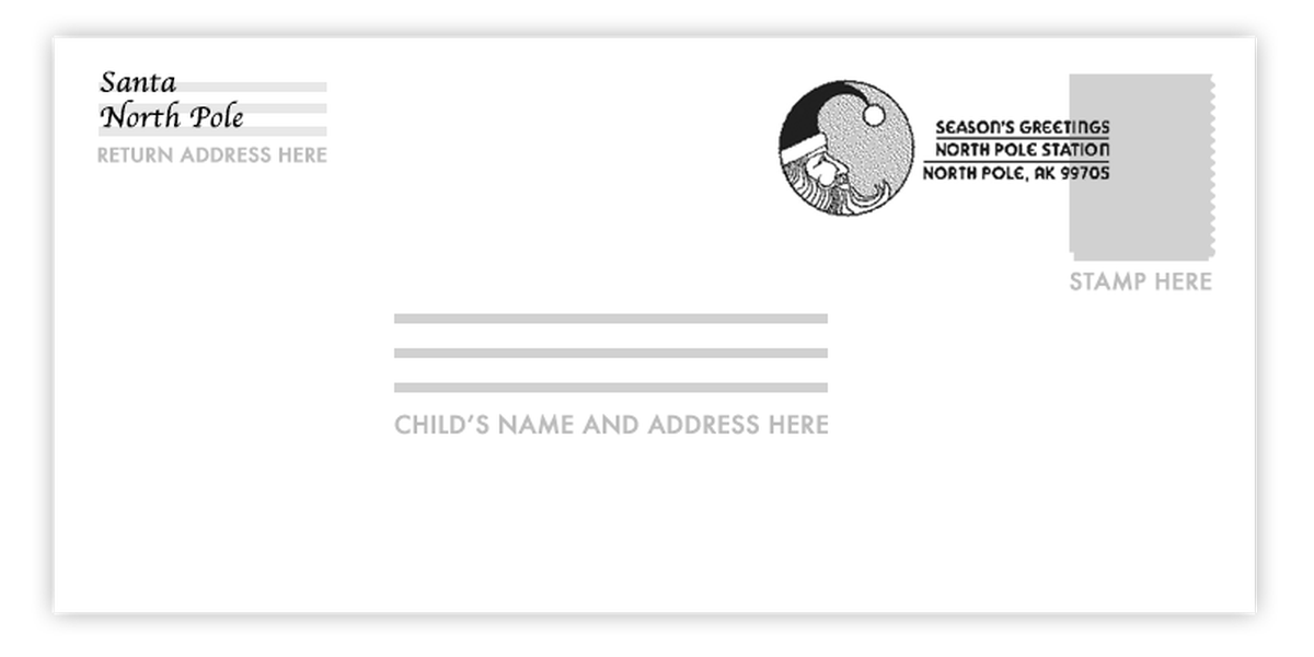 Santa's real! How your child can get a letter right from the North Pole