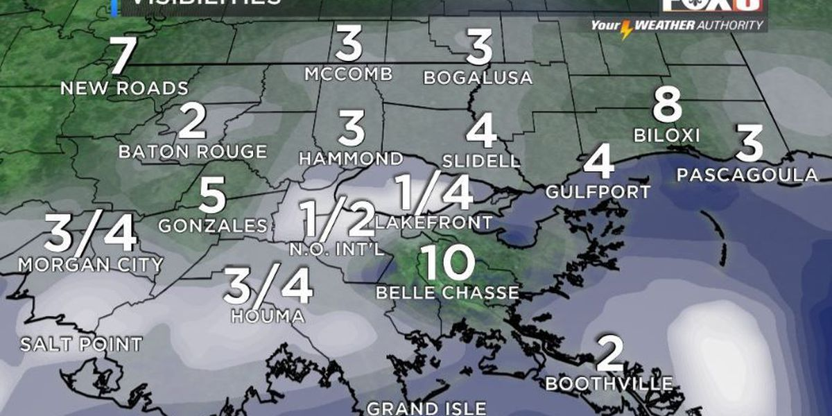 Your Weather Authority: Foggy morning with cooler temperatures coming