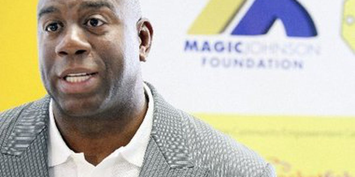 Lakers' president Magic Johnson says Pelicans didn't operate in good faith during Davis trade negotiations