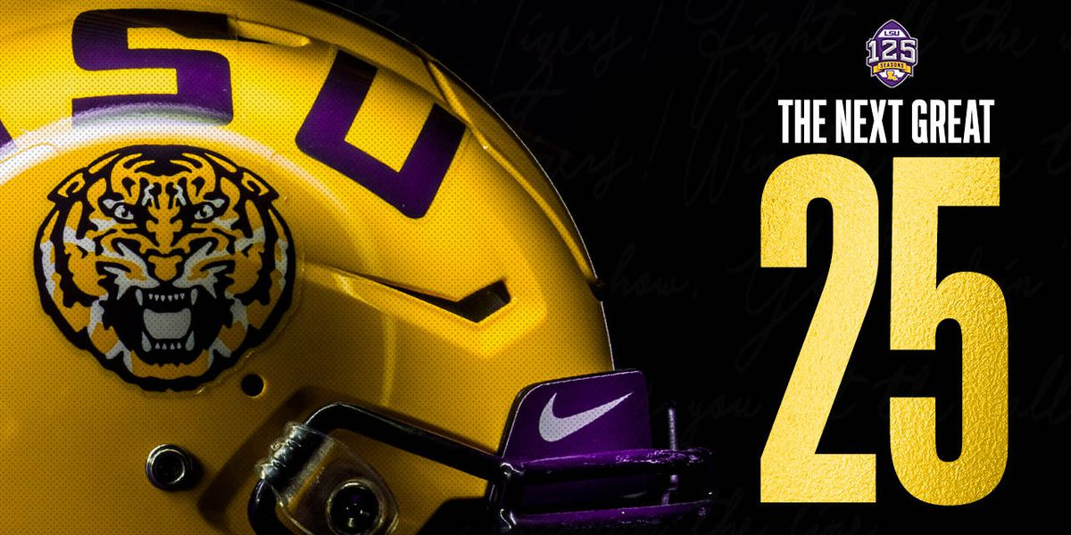Former LSU football captains compile 'Next Great 25' team