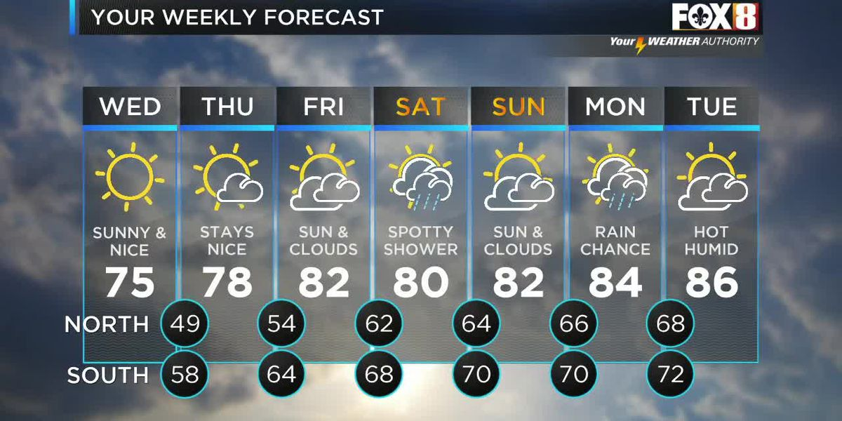 Bruce: Wednesday Noon weather forecas