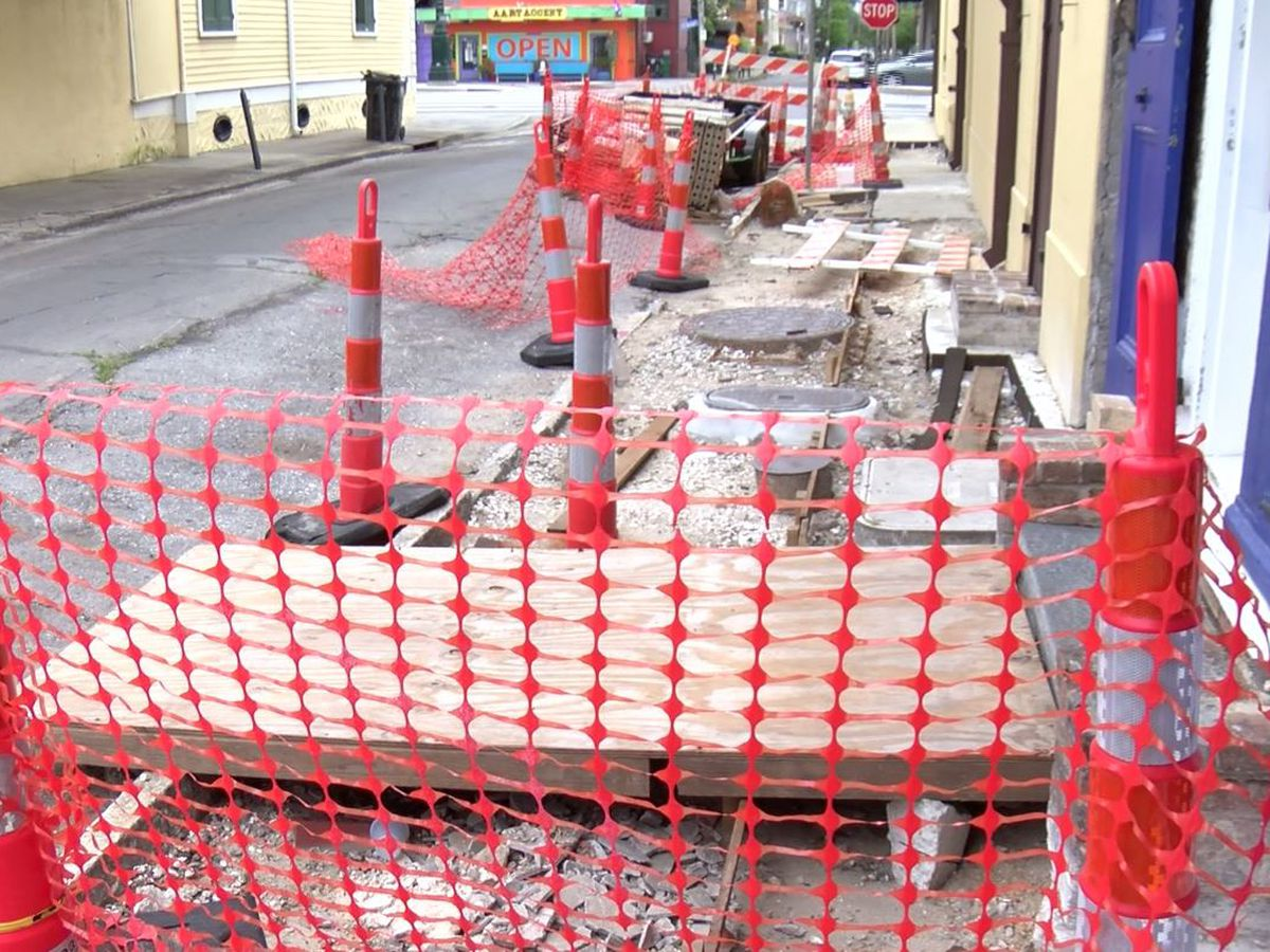 French Quarter residents concerned about safety amid sidewalk project